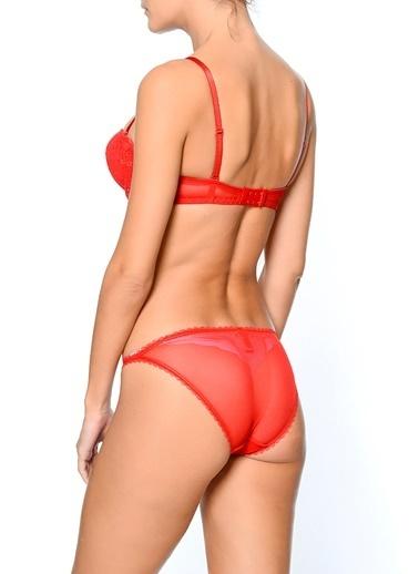 Pierre Cardin Çamaşır Takım Kırmızı
